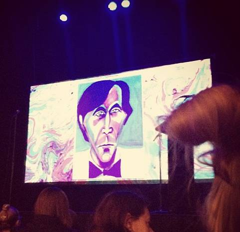 Bryan Ferry at Noel Fielding show, Athenaeum Theatre, Melbourne 24-Oct-2012