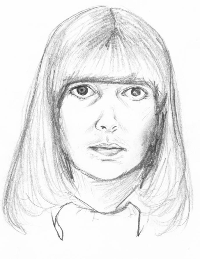 Marjorie's self-portrait