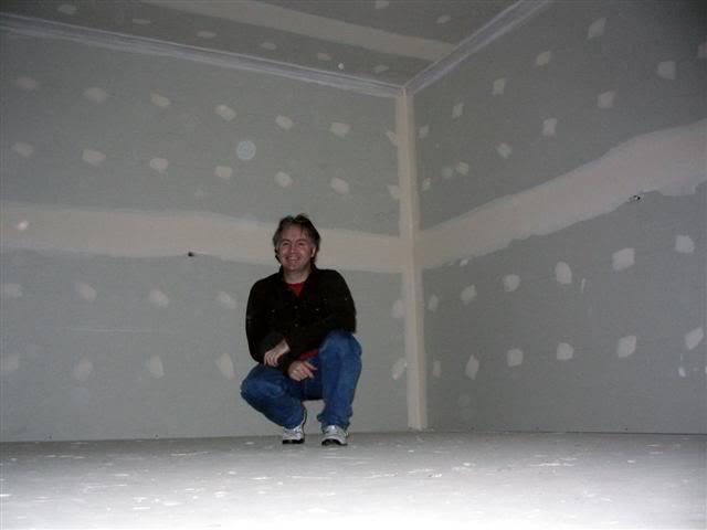 DC in his new home recording studio, Oct 2007