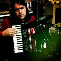 Samuel Cardwell added some accordion to a track on Mondo's album